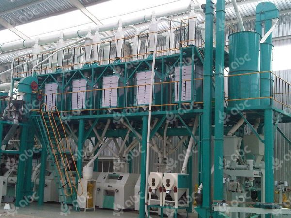 100tpd corn mill machine