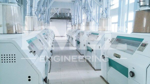 12sets of 1m wheat flour milling machine