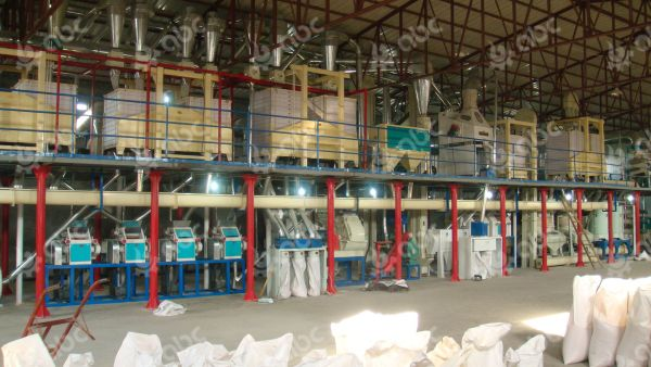200tpd corn grit mill machine