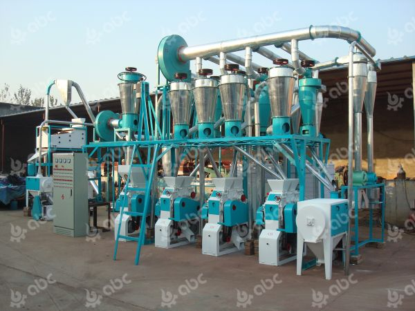 20tpd wheat milling machine plant