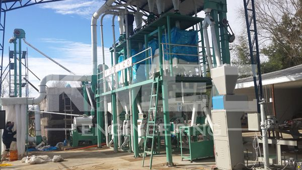 30ptd wheat flour mill project in chile