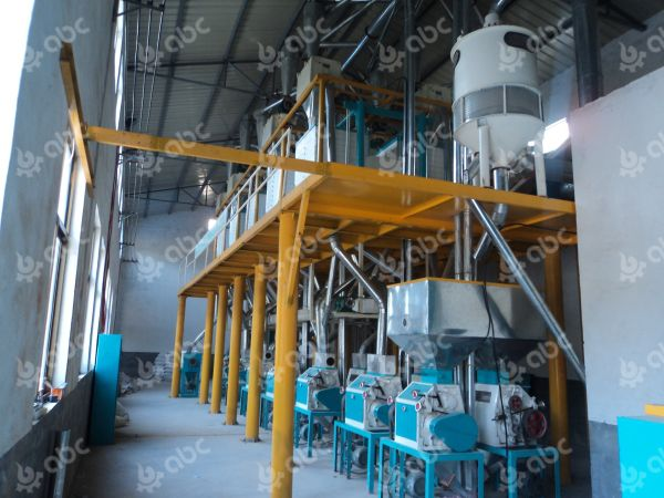 large wheat flour mill machine