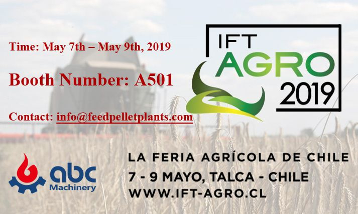 ABC Machinery will attend IFT Agro 2019