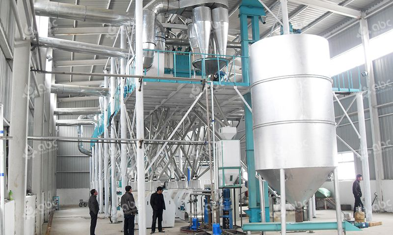 Commercial Flour Mill Project for Maize