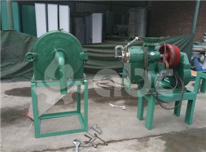crusher and dehulling machine