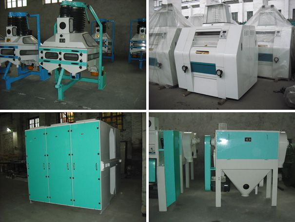 flour mill equipments