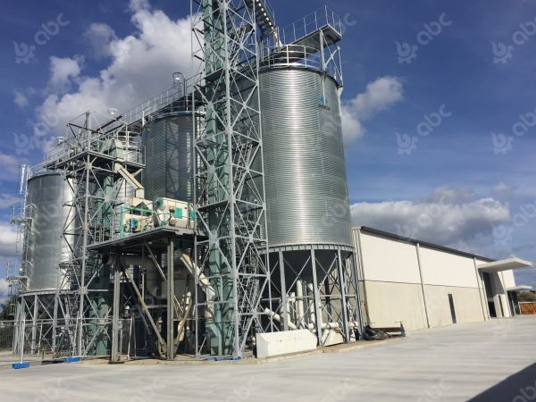 160tpd wheat flour mill plant in new zealand