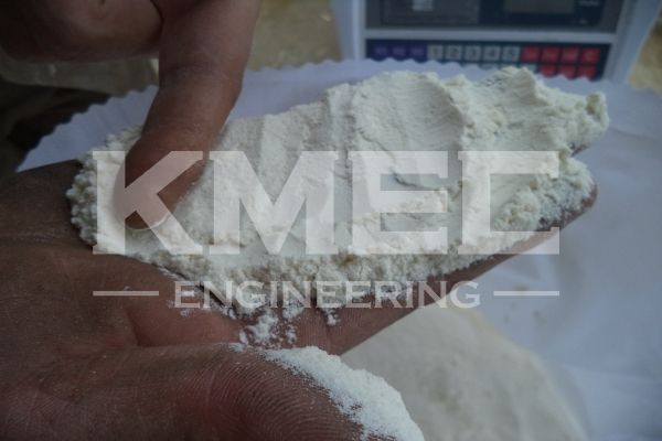 output wheat flour