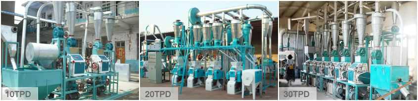 Small Size Wheat Flour Mill Plant