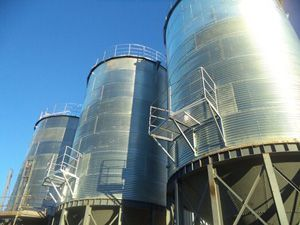 storage silo in 160t wheat flour plant New Zealand