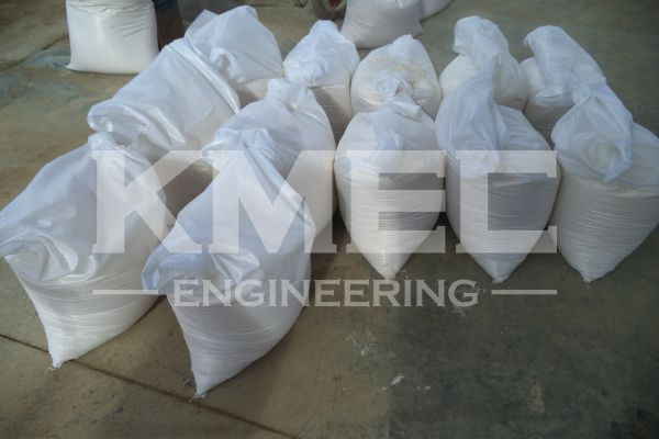 wheat flour in bags