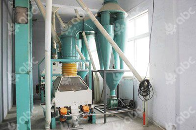 wheat flour machine destoning part